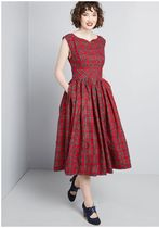 fabulous fit and flare dress with pockets