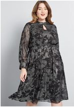 more to adore long sleeve dress