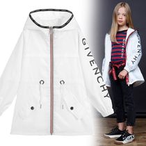 GIVENCHY(ジバンシィ) キッズアウター 大人OK★GIVENCHY★2019SS★ロゴ入ウィンドブレーカー★白★14Y