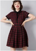 styled to smile plaid dress