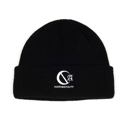 ANOTHERYOUTH ニットキャップ・ビーニー ANOTHERYOUTH★logo beanie (2色)★男女共用(2)