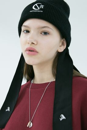 ANOTHERYOUTH ニットキャップ・ビーニー ANOTHERYOUTH★logo beanie (2色)★男女共用(6)