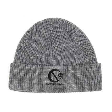 ANOTHERYOUTH ニットキャップ・ビーニー ANOTHERYOUTH★logo beanie (2色)★男女共用(9)