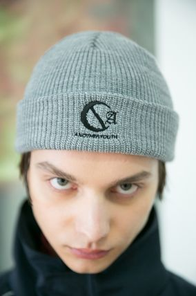 ANOTHERYOUTH ニットキャップ・ビーニー ANOTHERYOUTH★logo beanie (2色)★男女共用(14)