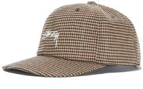 AUS発★STUSSY(ステューシー)帽子:SMALL CHECK STRAPBACK CAP