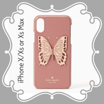 kate spade / iPhone X/Xs or Xs Max case / butterfly applique