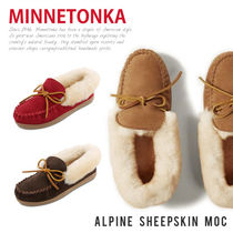 MINNETONKA ALPINE SHEEPSKIN MOC- アルペン シープスキン