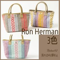 【Ron Herman】送料込ロゴ付トートバッグMexican ToteBag/3色
