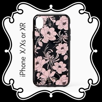 kate spade new york スマホケース・テックアクセサリー kate spade / iPhone X/Xs  or XR case / Gardenia print