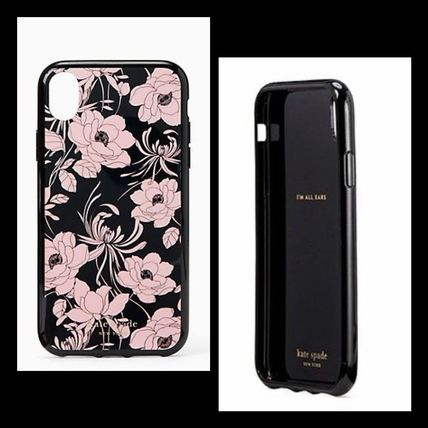 kate spade new york スマホケース・テックアクセサリー kate spade / iPhone X/Xs  or XR case / Gardenia print (2)