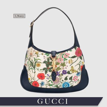 new style 3d7ab a919a 【Precious 掲載】GUCCI グッチ★Jackie ジャッキー 花柄 バッグ