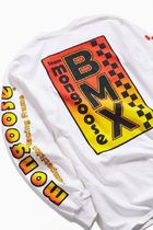 URBAN OUTFITTERS マングース BMX 袖ロゴ Tシャツ 送料込み
