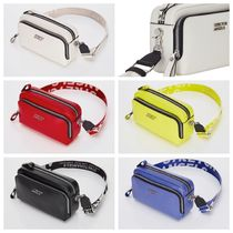 ★STRETCH ANGELS★ PANINI metal logo solid bag  /5色