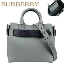 Burberry正規品/EMS/送料込み バイカラー Shoulder & Toddle Bag