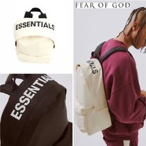 日本未発売!【FEAR OF GOD】Essentials Graphic Backpack