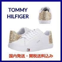 SALE! Tommy Hilfiger レースアップ スニーカー GOLD ラメ Lune