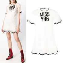 """18-19AW RV137 """"MISS YOU"""" TULLE DRESS"""