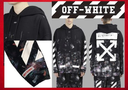 Off-White(オフワイト)Galaxy Brushed Over Hooded