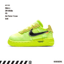 人気話題!Nike x Off-White PS Air Force 1 Low Volt