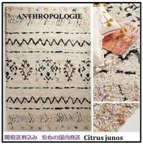 【Anthropologie】シック パステル Knotted Riad Rug