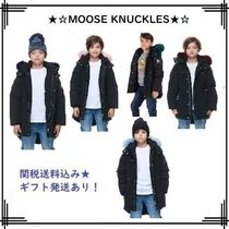 MOOSE KNUCKLES(ムースナックルズ) キッズアウター 18-19AW【MOOSE KNUCKLES】UNISEX KIDS PARKA / COLORFUL FUR