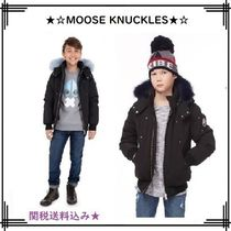 MOOSE KNUCKLES(ムースナックルズ) キッズアウター 18-19AW【MOOSE KNUCKLES】BOYS BOMBER/COLOURFUL FUR★関送込