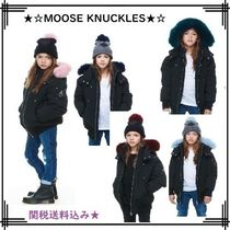 MOOSE KNUCKLES(ムースナックルズ) キッズアウター 18-19AW【MOOSE KNUCKLES】GIRLS BOMBER/COLOURFUL FUR★関送込