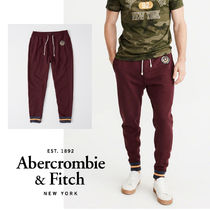 Abercrombie&Fitch*国内発送(追跡有)送関込*ロゴジョガーパンツ
