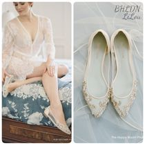 BHLDN取扱いBella Belle★CRYSTAL EMBELLISHED  WEDDING FLATS