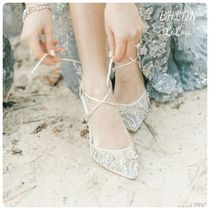 BHLDN取扱いBella Belle★EMBELLISHED CRYSTAL WEDDING HEELS