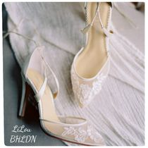 BHLDN取扱いBella Belle★IVORY LACE WEDDING SHOESウェディング