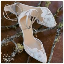 BHLDN取扱いBellaBelle★WEDDING HEEL WITH SOMETHING サンダル
