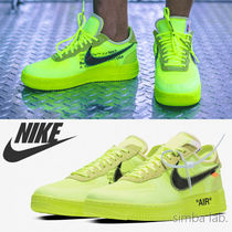 NIKE × OFF-WHITE THE 10 Air Force 1 Low YL エアフォース