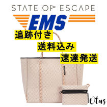 追跡付【STATE OF ESCAPE】Flying solo tote blush ブラッシュ