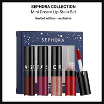 SEPHORA☆Mini Cream Lip Stain set ミニリップ4本セット