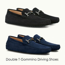 TOD'S(トッズ) ドレスシューズ・革靴・ビジネスシューズ 19SS TOD'S★Double T Gommino Driving Shoes/Suede 関税/送料込