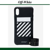 19SS★Off-White(オフホワイト)black and white iPhone X case