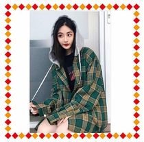 【関税・送料込】NVSTUDIO HOODED PLAID SHIRT JACKET