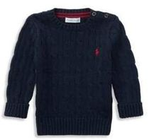 【送料込 Ralph Lauren】 Baby Girl's Cable-Knit Sweater