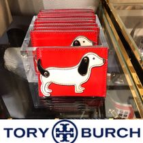 【SALE】Tory Burch DACHSHUND SLIM CARD CASE 送料込/関税込