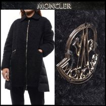 【MONCLER GAMME ROUGE】ウールMIXロングダウンジャケット/EMS