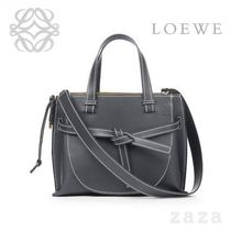 LOEWE★ロエベ Gate Top Handle Small Bag Midnight Blue