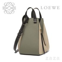 LOEWE★ロエベ Hammock Medium Bag Oat/Khaki Green