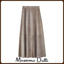 MassimoDutti♪LIMITED EDITION SUEDE SKIRT
