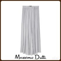 MassimoDutti♪GATHERED WRAP SKIRT