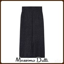 MassimoDutti♪TEXTURED KNIT SKIRT