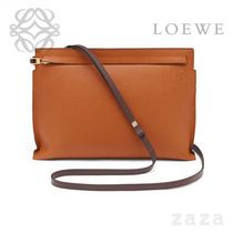 LOEWE★ロエベ T Pouch Bag Ginger/Rouge