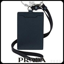 PRADAプラダ 2MC016 SAFFIANO LEATHER BADGE HOLDER