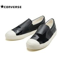 ☆国内正規品 CONVERSE  ALL STAR COUPE TRIOSTAR SLIP-ON BLACK