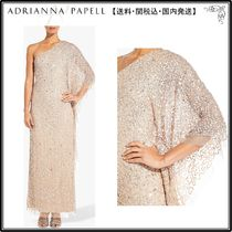【海外限定】AdriannaPapellドレス☆Petite One Shoulder Embell